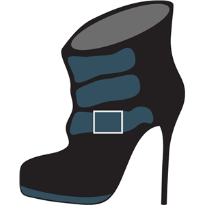 stiletto bootie