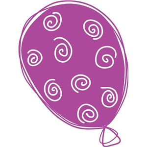 swirly balloon