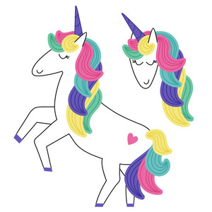 dancing rainbow unicorn