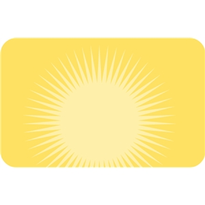 sunburst sign