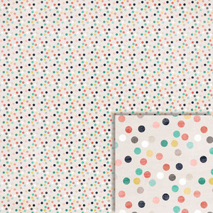 color polka dots background paper