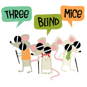 mother goose - three blind mice