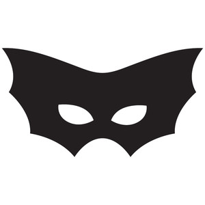 bat halloween mask