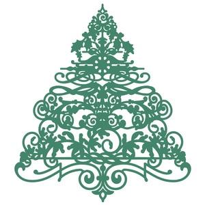flourish christmas tree