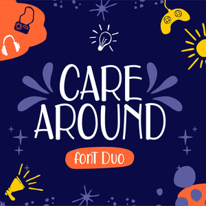 care around font duo