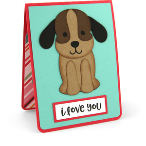 twist pop card love more than the dog