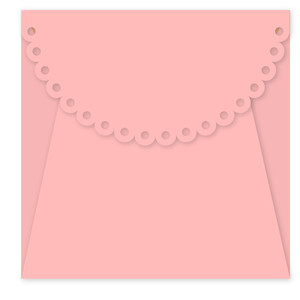 scalloped envelope