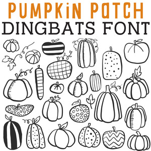 cg pumpkin patch dingbats