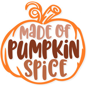 made of pumpkin spice