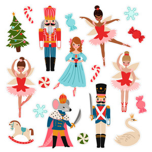 nutcracker ballet stickers