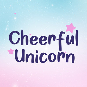 cheerful unicorn font