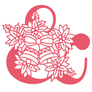 poinsettia ampersand