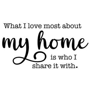 love home share it with