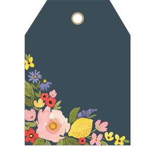 floral tag