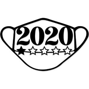 one star 2020 mask