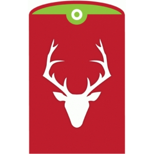 deer card pocket