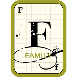 flashcard: family