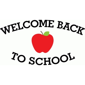'welcome back to school' phrase