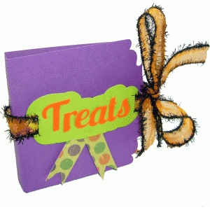mini halloween candy folder