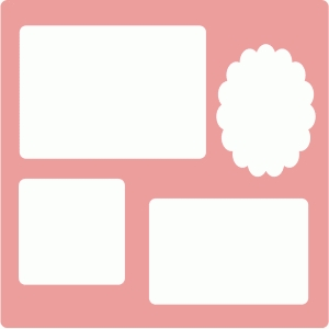 simple photo frame mat