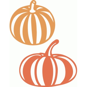 striped pumpkins
