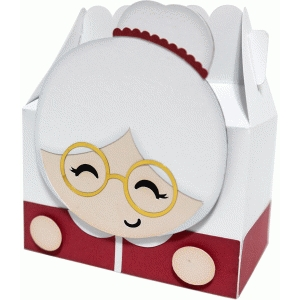 cute mrs. claus box
