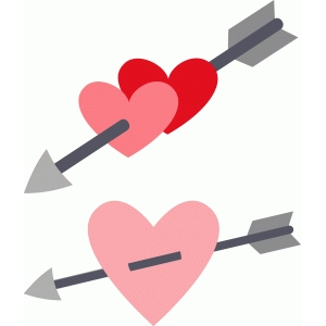 hearts with arrows