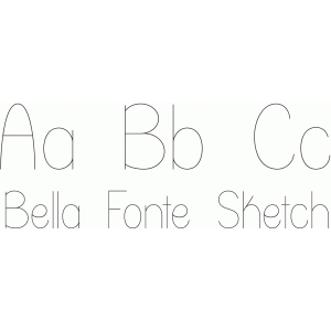 bella fonte sketch