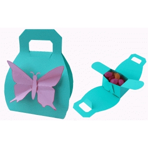 butterfly purse treat container