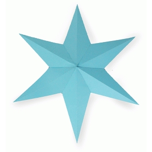 6 pointed star decor