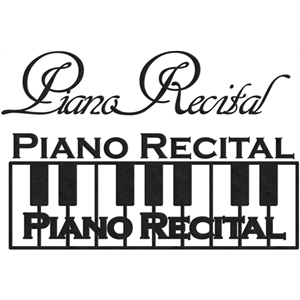piano recital phrases