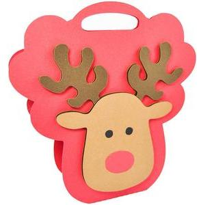 christmas reindeer bag