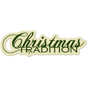'christmas tradition' word phrase