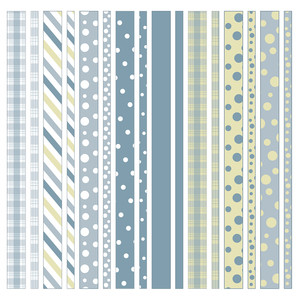 striped and dotted washi tape