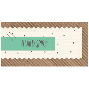 a wild spirit label