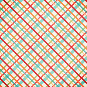 birthday plaid paper