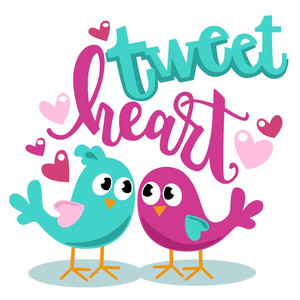 tweetheart valentine birds