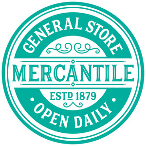 mercantile store sign