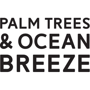 palm trees ocean breeze