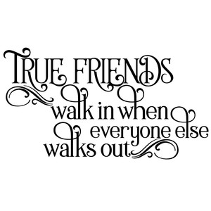 true friends quote