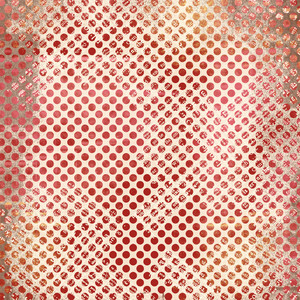 distressed red dot background paper