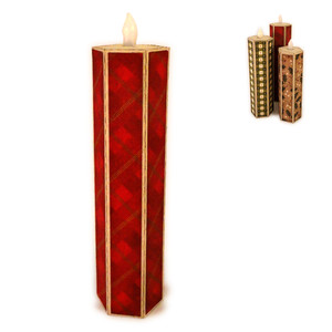 candle narrow 3d led flame 7 inch
