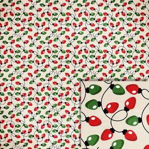 christmas lights background paper