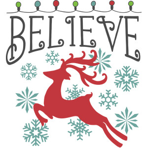 believe christmas lights