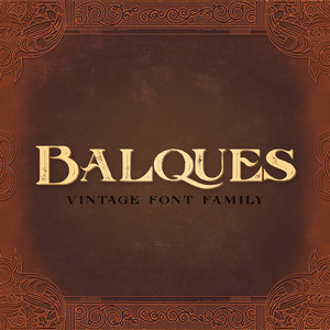 balques font family