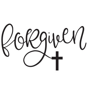 forgiven cross word