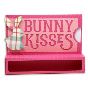 bunny kisses chocolate holder