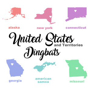 united states dingbats