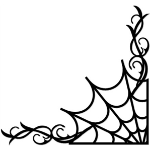 spider web flourish
