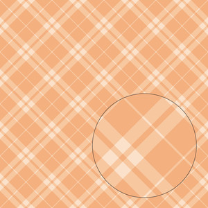light orange plaid seamless pattern